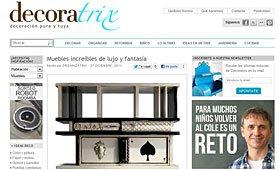 Muebles increíbles de lujo y fantasía en Decoratrix