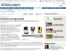 El atractivo de algo pasado en Portobello en diariodeibiza.es