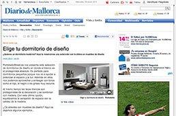 Elige tu dormitorio de diseño en diariodemallorca.es