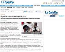Sigue el movimiento ecléctico con Portobello en laopinion.es