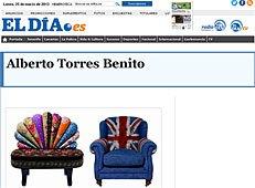 """Butacas tapizadas revatilizadas con Portobello en """"ElDía.es"""""""