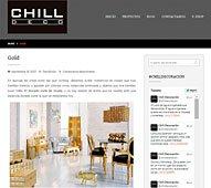 Gold con Portobello en chilldeco.com