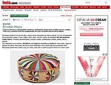 El nuevo estilo étnico con portobello en hola.com