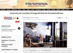 Colección vintage british con Portobello en interiorismos.com