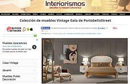 Muebles vintage Gala con Portobello en interiorismos.com