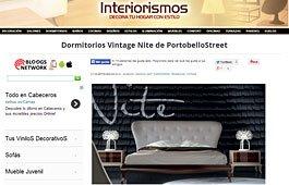 Muebles vintage Nite con Portobello en interiorismos.com