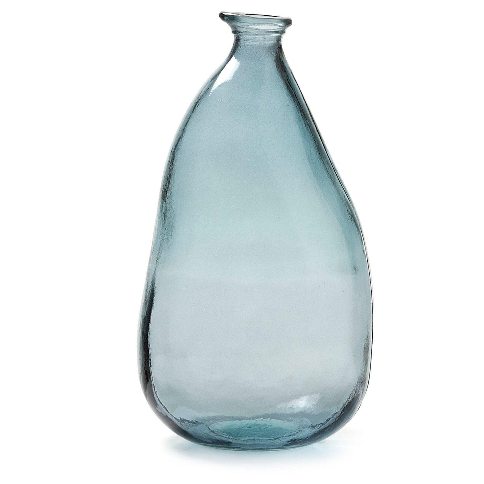 Jarrón cristal azul Dahl