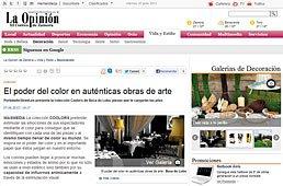 El Poder del Color con Portobello en laopiniondezamora.es