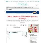 Mesa de centro con Portobello en micasarevista.com