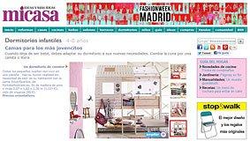 Camas para los más jovencitos en micasarevista.com