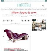 Sillones largos con Portobello en micasarevista.com