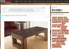 Muebles de microcemento con Portobello en casaactual.com