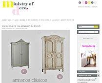 Busca un armario clásico con Portobello en ministryofdeco.blogspot.com.es