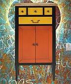 Mueble Auxiliar 4 cajones 2 puertas Cool
