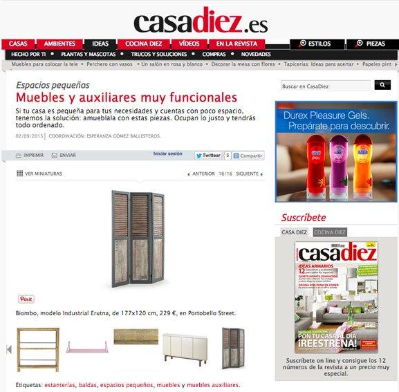 Mueble funcionales con Portobello