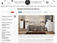 Muebles de dormitorio blancos con Portobello