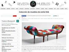 Coleeción de muebles de estilo folk con Portobello