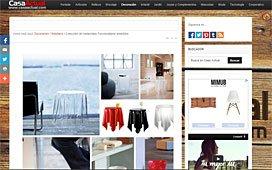 Colección de metacrilato con Portobello en casaactual.com