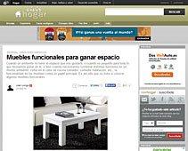Muebles funcionales con Portobello en vivirhogar.es