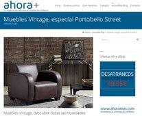 Muebles vintage con Portobello