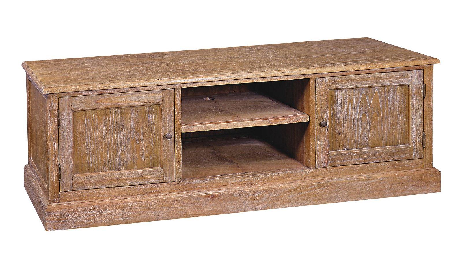 Mueble tv 2 puertas colonial Hakka