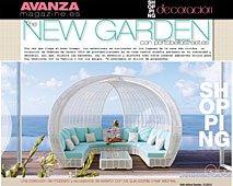 New Garden con Portobello en avanzamagazine.es