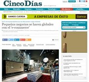 Pequeños negocios se hacen globales con el e-commerce
