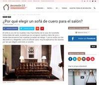 ¿Por qué elegir un sofá de cuero para el salón? con Portobello