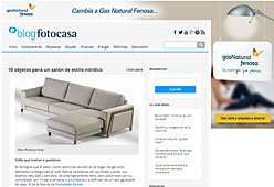 Sofá nórdico con Portobello en fotocasa.es