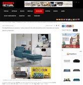 Nueva colección de sofás retro inspirados en la seria de televisiva Mad Men con Portobello