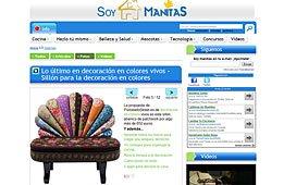 Lo último en decoración en colores vivos en soymanitas.com