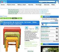 Decoración Exterior con Portobello en soymanitas.com