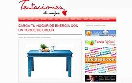 """Carga tu hogar de energía con un toque de color en """"Tentaciones de mujer"""""""