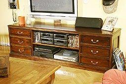 Mueble Tv 6 Cajones
