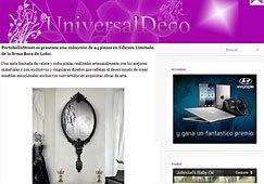 Productos Artesanalmente Realizados con Portobello universaldeco.es